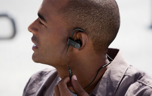 Draadloze Powerbeats3-oordopjes.
