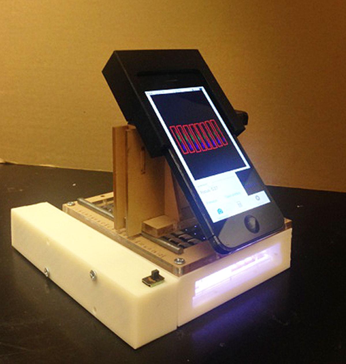 iPhone voor onderzoek naar kanker.