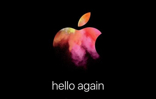 Uitnodiging voor het Mac-event op 27 oktober.