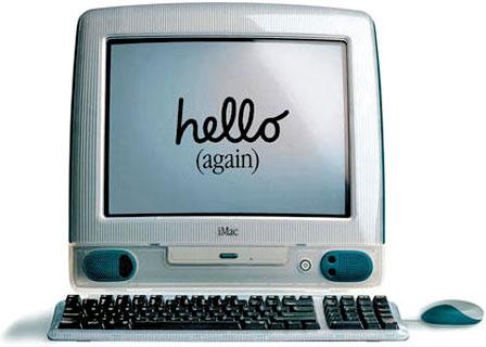 iMac Hello Again.