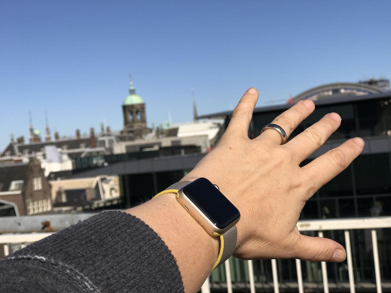 Het uiterlijk van de Apple Watch Series 2 is hetzelfde gebleven