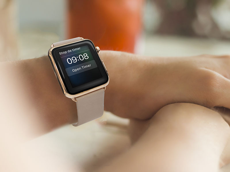 Apple Watch-timer