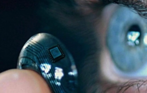 Slimme contactlenzen voor AR.