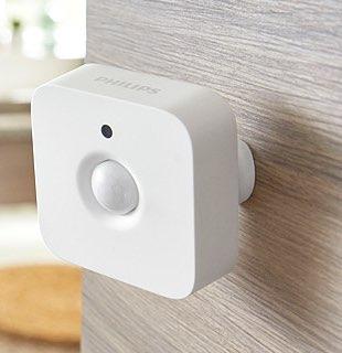 Philips Hue Motion Sensor aan de muur