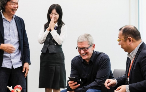 Tim Cook in Japan