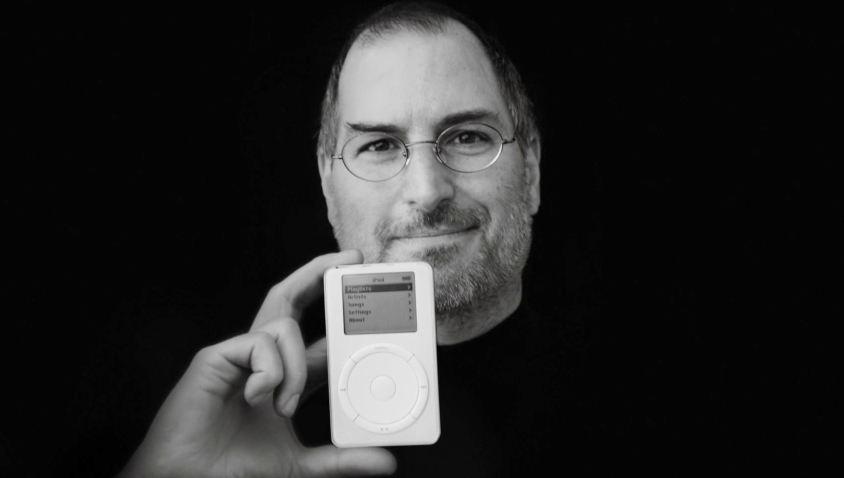 Steve Jobs eerste iPod