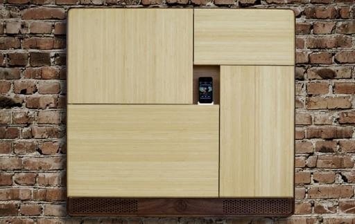 Podpad houten kast