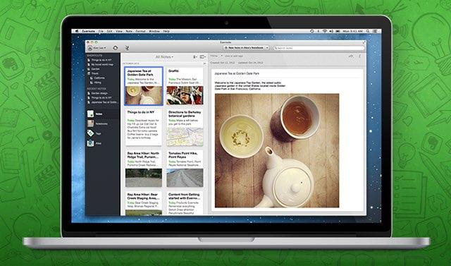 Evernote voor Mac
