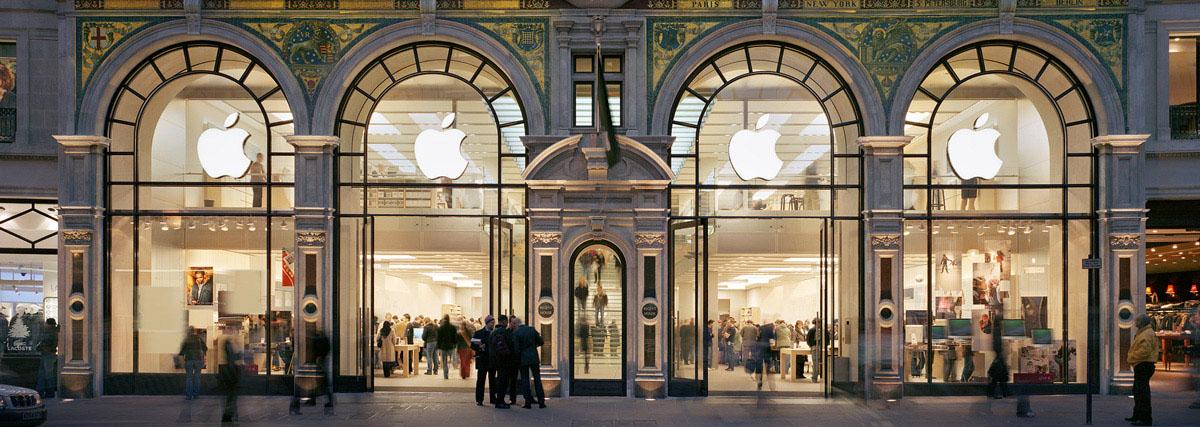 Apple Store Regent Street oude situatie