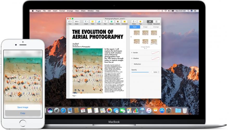 Universeel klembord voor iOS 10 en macOS Sierra