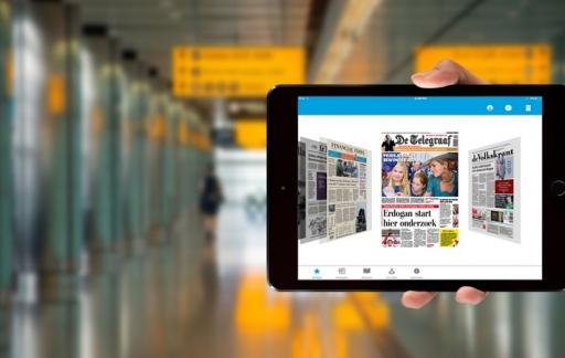 KLM Media-app voor iPad