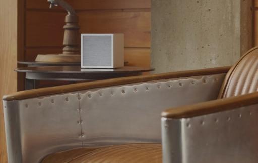 Tivoli Cube in woonkamer