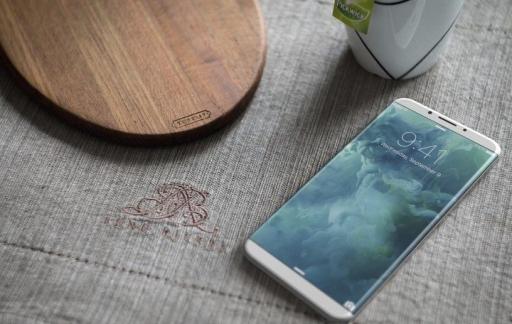 iPhone 8 concept op tafel