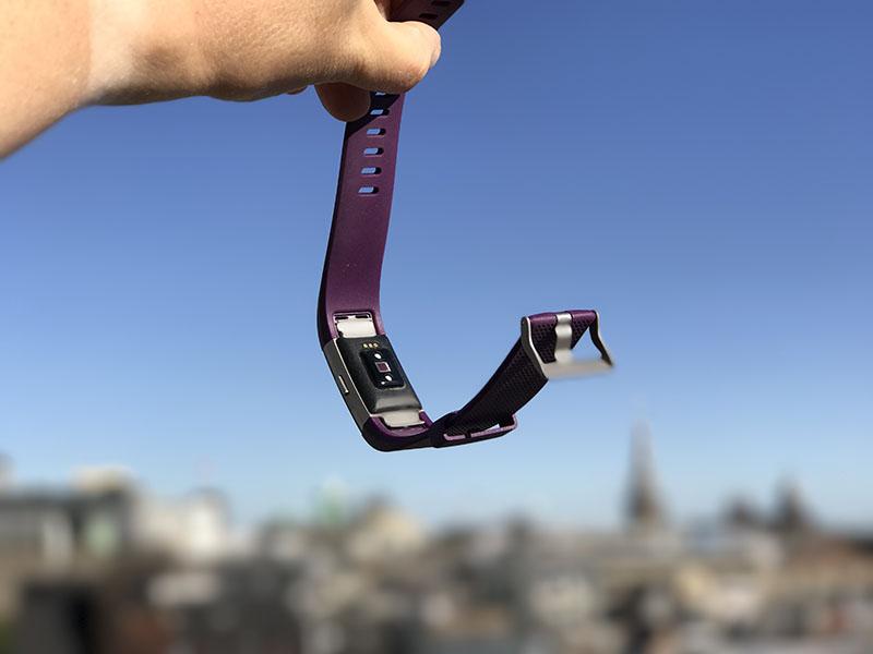 Fitbit Charge 2 hartslagmeter
