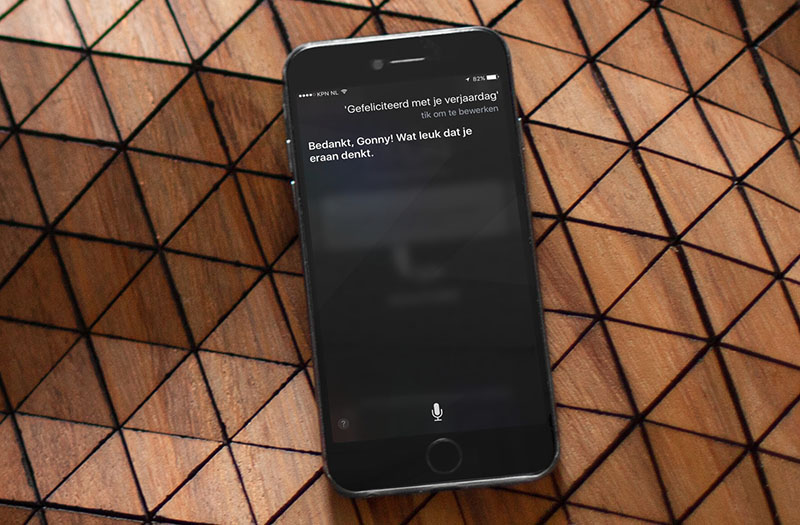 Siri-verjaardag: Siri is 5 jaar