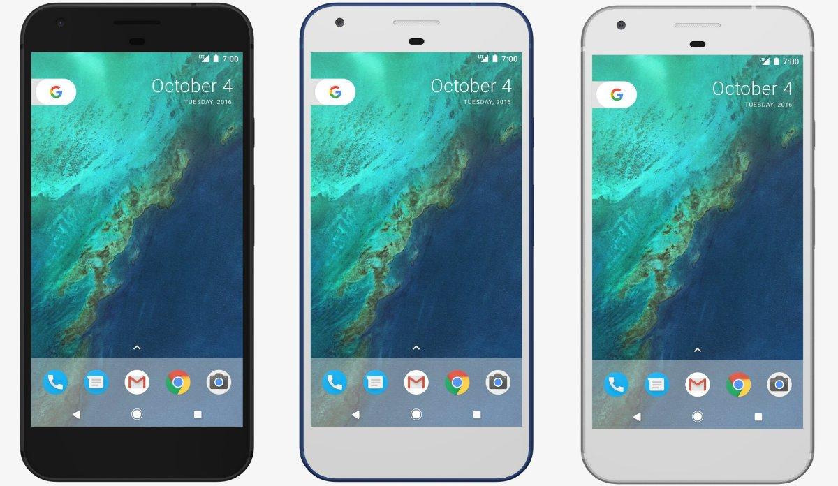 Google Pixel lineup
