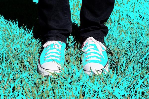 Schoenen: kleurverschil