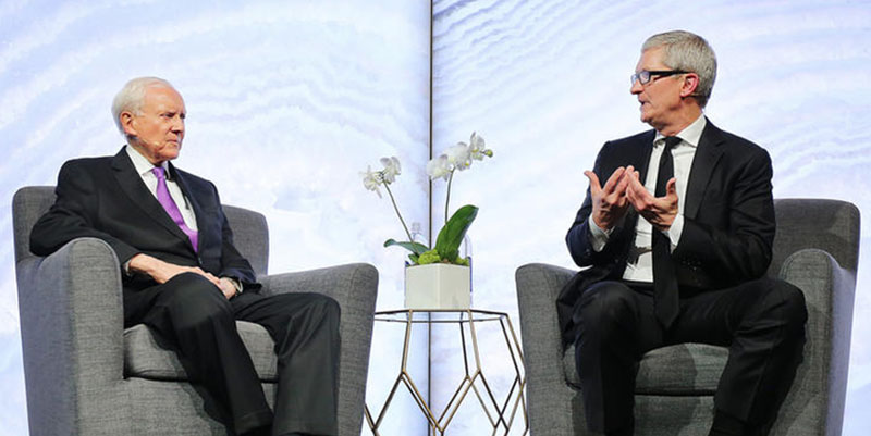 Tim Cook Utah Tech Tour