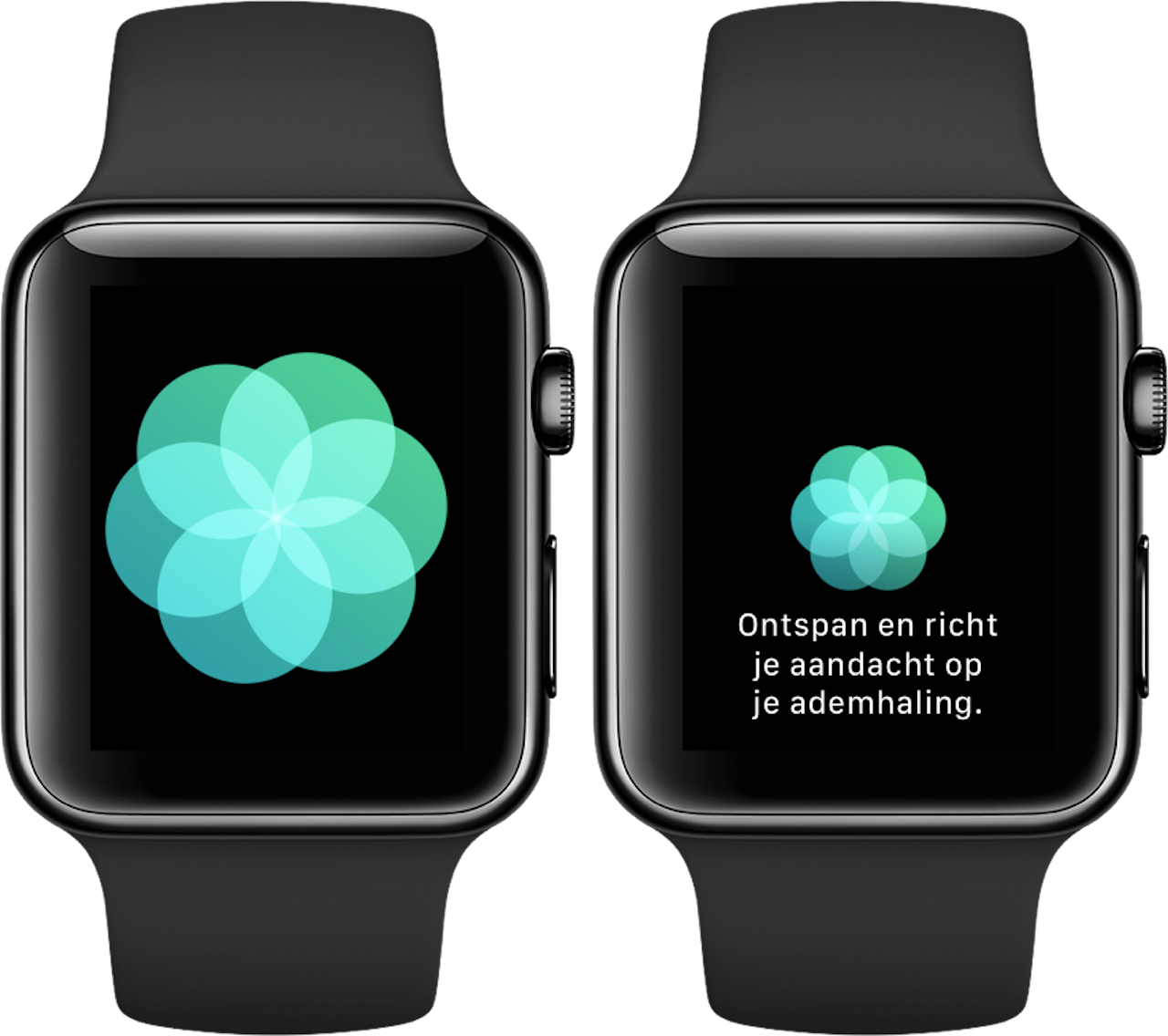Ademhaling-app Apple Watch 2