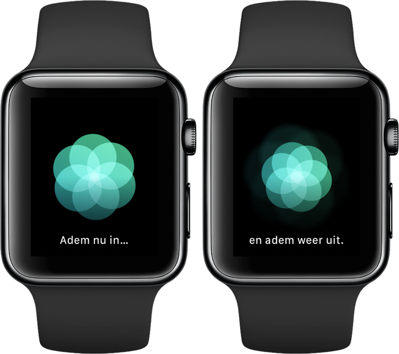 Ademhaling-app Apple Watch 3