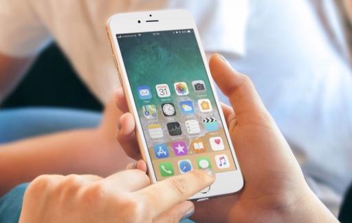 Bereikbaarheid (Reachability) op de iPhone.