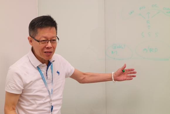 Quanta-topman Mike Yang