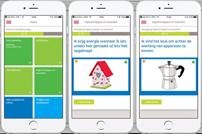 Studiekiezer-app