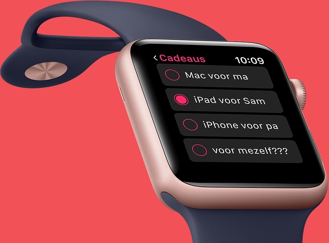 Black Friday op de Apple Watch.