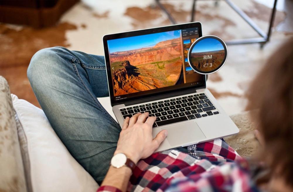Foto's bekijken in Plex op de Mac.