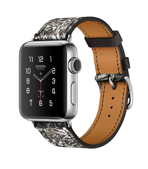 Hermes Dallet-bandje voor Apple Watch, voorzijde