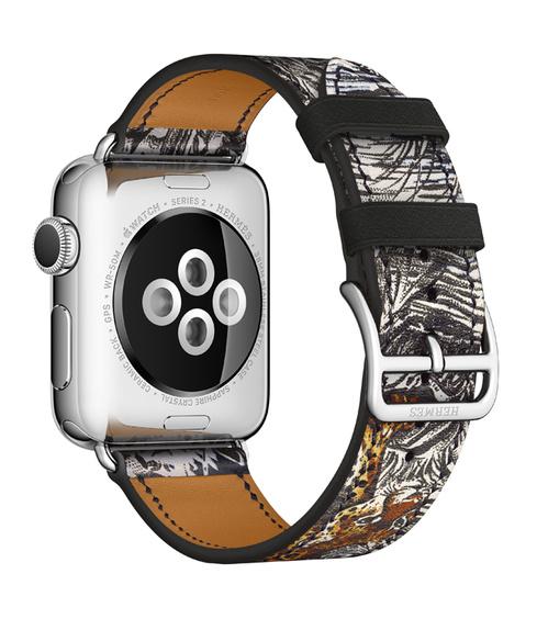 Hermes Dallet-bandje voor Apple Watch, achterzijde