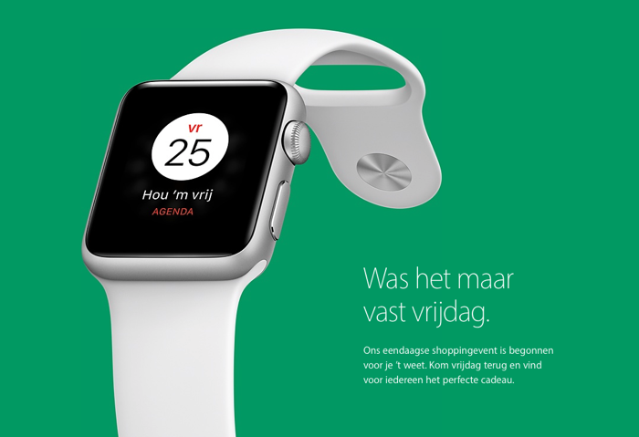 Black Friday bij Apple 2016