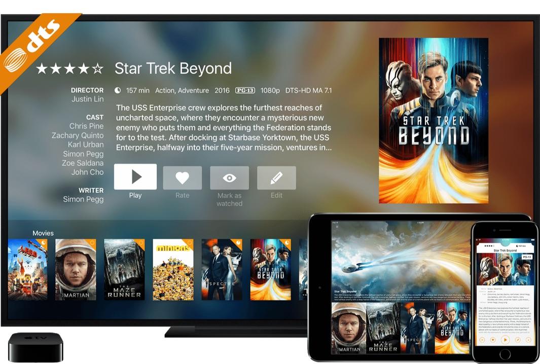 Infuse 5 voor de Apple TV en iOS.