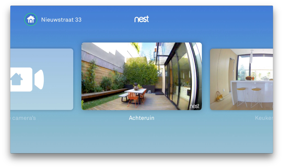 Nest voor de Apple TV.