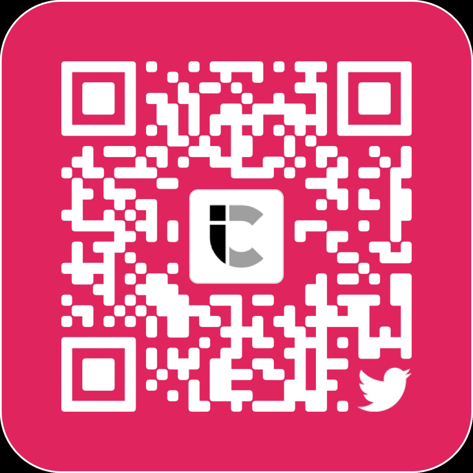 Twitter QR-code van iCulture