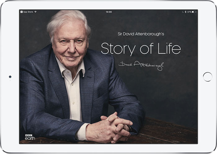 Stoy of Life: duizenden clips van David Attenborough