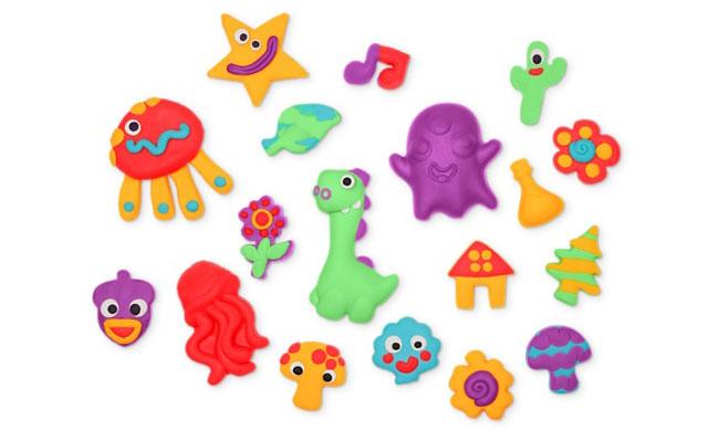 Play Doh-kleifiguren