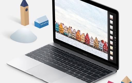 MacBook kerst