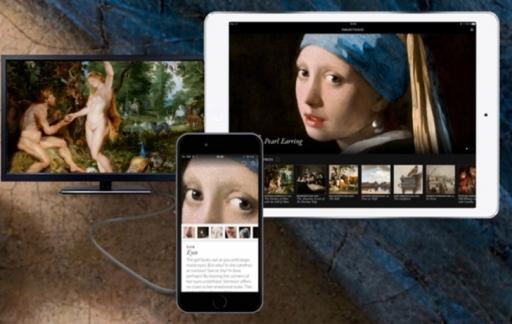 Second Canvas van het Mauritshuis.