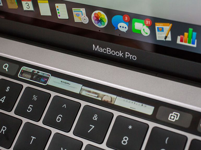 Apple MacBook Pro met Touch Bar, CNET