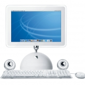 iMac G4 met Apple Pro Speakers van Harman/Kardon