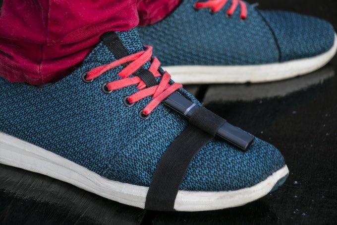 Freedrum op schoenen