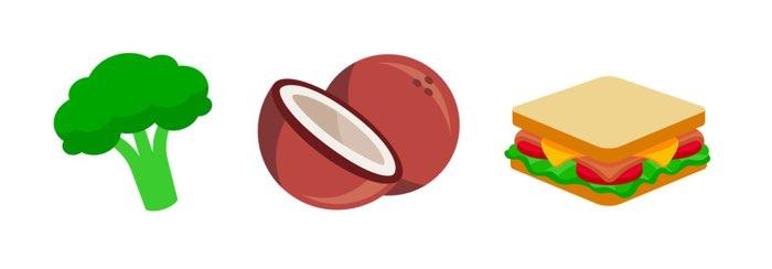 Nieuwe voedsel-emoji in Unicode 10