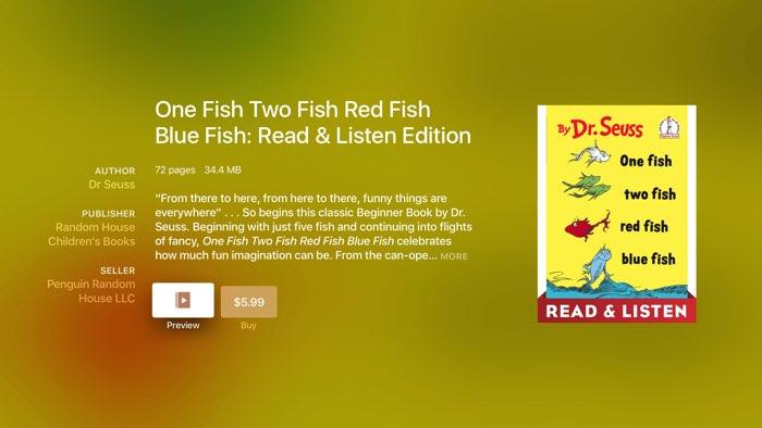 Dr. Seuss boek aanschaffen in iBooks StoryTime