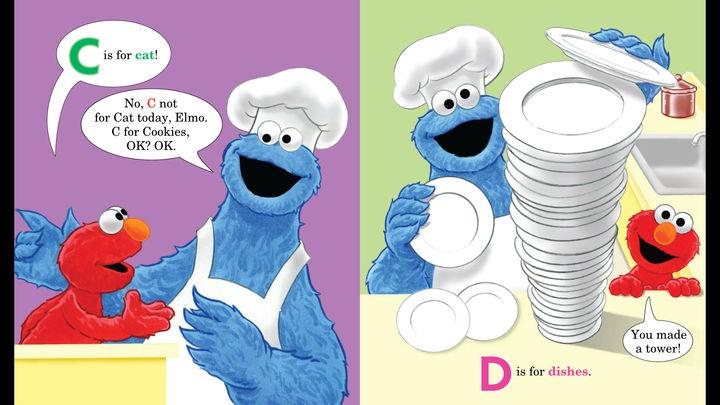 iBooks StoryTime met Cookie Monster
