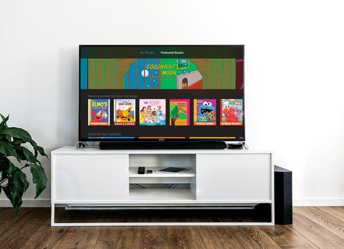 iBooks StoryTime op Apple TV