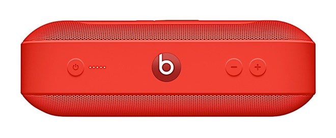 Beats Pill+ Speaker in rood