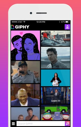 Giphy voor iPhone