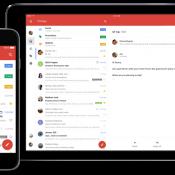 Gmail op iPhone en iPad.
