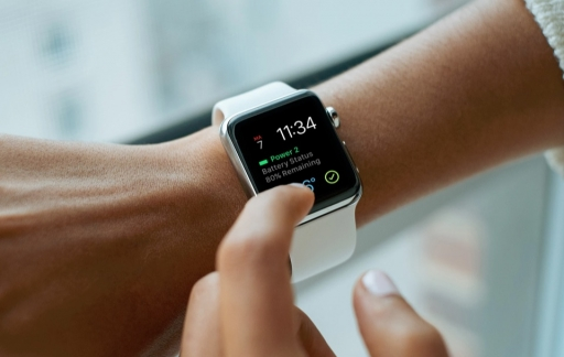 Power 2 op de Apple Watch met grote complicatie.